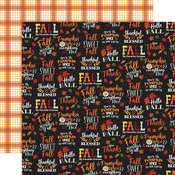 Fall Sweet Fall Paper - Welcome Autumn - Carta Bella