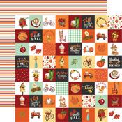 Seasonal Squares Paper - Welcome Autumn - Carta Bella