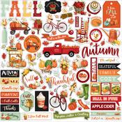 Welcome Autumn Element Sticker - Carta Bella