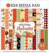 Welcome Autumn Cardmakers 6X6 Mega Pad - Carta Bella