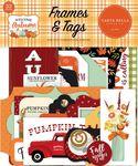 Welcome Autumn Frames & Tags - Carta Bella