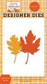Crisp Leaves Die Set - Welcome Autumn - Carta Bella