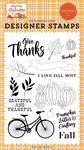 I Love Fall Most Stamp Set - Welcome Autumn - Carta Bella