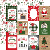 3x4 Journaling Cards Paper - Jingle All The Way - Echo Park
