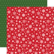 Silent Snowfall Paper - Jingle All The Way - Echo Park