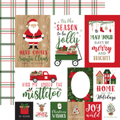 Journaling Cards Paper - Jingle All The Way - Echo Park