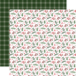 Holly Berry Paper - Jingle All The Way - Echo Park