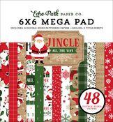 Jingle All The Way Cardmakers 6x6 Mega Pad - Echo Park
