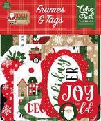 Jingle All The Way Frames & Tags - Echo Park