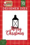 Merry Christmas Lantern Die Set - Jingle All The Way - Echo Park