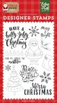 Holly Jolly Christmas Stamp Set - Jingle All The Way - Echo Park