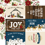 6x4 Journaling Cards Paper - The First Noel - Echo Park