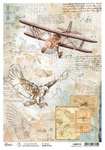 Study Of Flight A4 Rice Paper - Sign of the Times - Ciao Bella