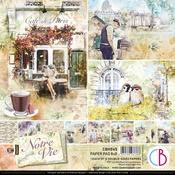 Notre Vie 8x8 Paper Pad - Ciao Bella - PRE ORDER