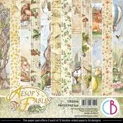 Aesop's Fables 6x6 Paper Pad - Ciao Bella - PRE ORDER