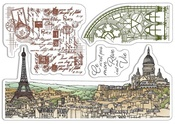 Notre Vie Clear Stamps - Ciao Bella