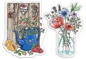 Fraises et Fleurs Sauvages Clear Stamps - Notre Vie - Ciao Bella