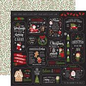 Home For Christmas Paper - Christmas Magic - Echo Park