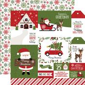 Journaling Cards Paper - Christmas Magic - Echo Park