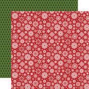 Swirling Snowflakes Paper - Christmas Magic - Echo Park