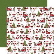 North Pole Nights Paper - Christmas Magic - Echo Park