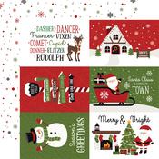 6x4 Journaling Cards Paper - Christmas Magic - Echo Park