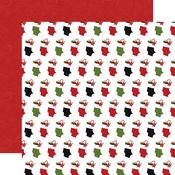Stuffing Stockings Paper - Christmas Magic - Echo Park