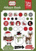 Christmas Magic Adhesive Brads - Echo Park
