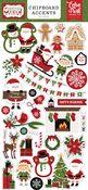 Christmas Magic 6x13 Chipboard Accents - Echo Park
