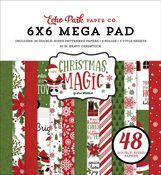 Christmas Magic Cardmakers 6x6 Mega Pad - Echo Park