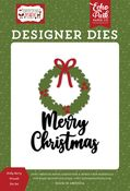 Holly Berry Wreath Die Set - Christmas Magic - Echo Park