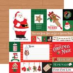 Multi Journaling Cards Paper - Christmas Cheer - Carta Bella