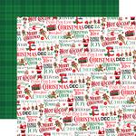 Holly Jolly Paper - Christmas Cheer - Carta Bella