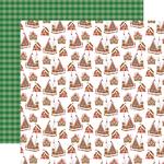 Candy Cane Lane Paper - Christmas Cheer - Carta Bella