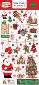 Christmas Cheer 6x13 Chipboard Accents - Carta Bella