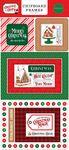 Christmas Cheer 6x13 Chipboard Frames - Carta Bella