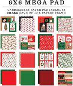 Christmas Cheer Cardmakers 6X6 Mega Pad - Carta Bella