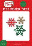 Cheery Snowflakes Die Set - Christmas Cheer - Carta Bella