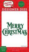 Vintage Merry Christmas Die Set - Christmas Cheer - Carta Bella