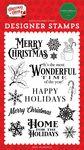 Most Wonderful Time Stamp Set - Christmas Cheer - Carta Bella