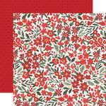 Christmas Floral Paper - Happy Christmas - Carta Bella