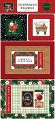 Happy Christmas 6x13 Chipboard Frames - Carta Bella