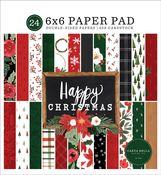 Happy Christmas 6x6 Paper Pad - Carta Bella