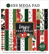 Happy Christmas Cardmakers 6x6 Mega Pad - Carta Bella