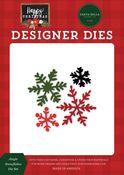 Jingle Snowflakes Die Set - Happy Christmas - Carta Bella