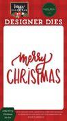 Jolly Merry Christmas Die Set - Happy Christmas - Carta Bella