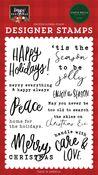 Enjoy The Season Stamp Set - Happy Christmas - Carta Bella