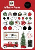 Home For Christmas Adhesive Brads - Carta Bella