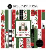Home For Christmas 6x6 Paper Pad - Carta Bella
