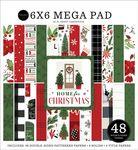 Home For Christmas Cardmakers 6X6 Mega Pad - Carta Bella
